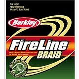 Шнур Berkley Fireline Braid; 110 м, 0,18 мм, нагрузка 17,9 кг